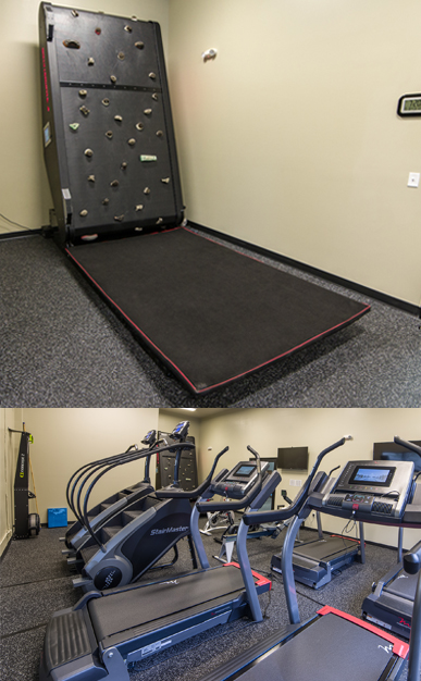 ClimbStation Climbing Treadwall and Altitude Room Equipment