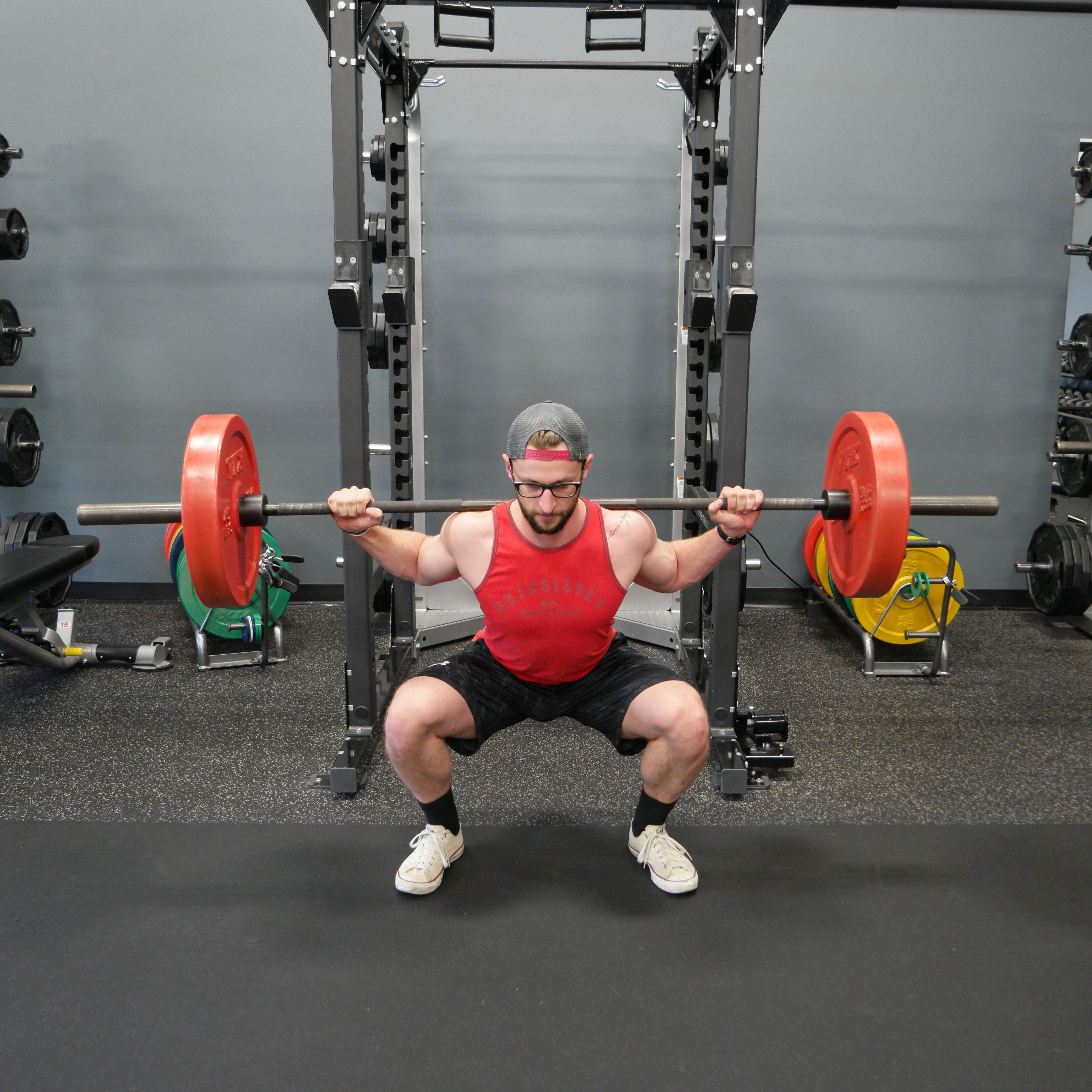 Squat Bottom Position