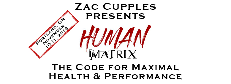 Zac Cupples: The Human Matrix